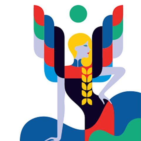 La ilustradora francesa Malika Favre, reconocida por sus aportaciones a la revista Vogue, re-imagina a los clásicos signos del zodiaco como modelos de alta costura en ilustraciones coloridas y llamativas.