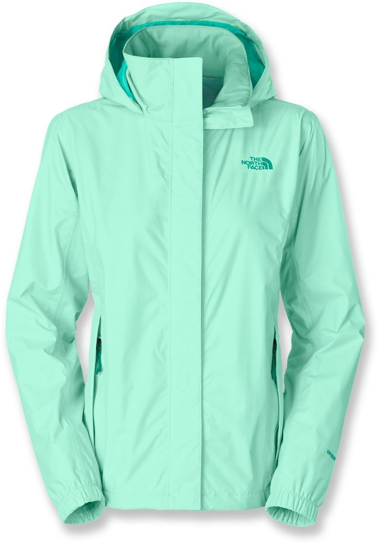 **You need a cute rain jacket just in case**  The North Face Resolve Rain Jacket - Women's - Free Shipping at REI.com