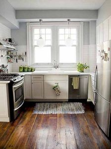 Small Kitchen Color Schemes Kitchen Furniture In Small Spaces — Interior Exteriors