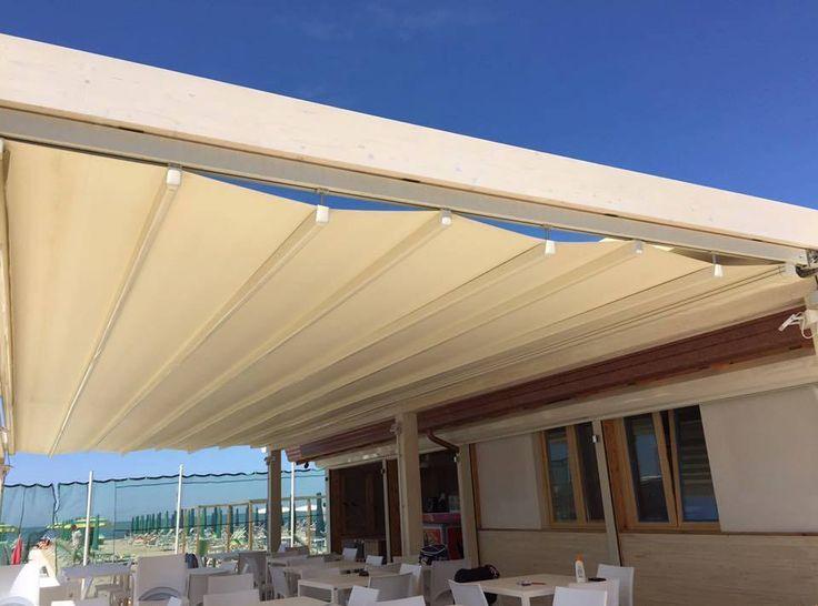Pergola #Arquati ROOF 90 - Viareggio (LU) #design #outdoor #architecture