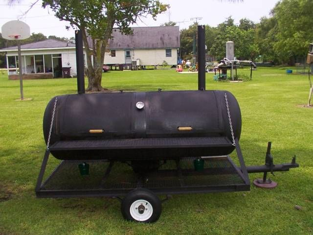 104 best building propane smokers images on pinterest for Deep pit bbq construction