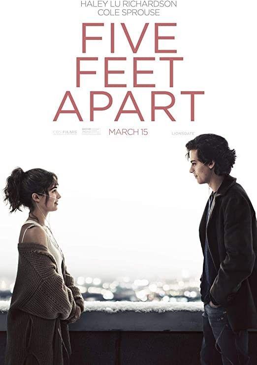 Five Feet Apart A Deux Metres De Toi Justin Baldoni 2019 Romantic Films Romantic Movies Movie Posters