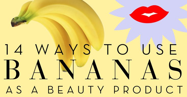Try these DIY beauty recipes to use bananas for skin scrubs, hair masks, acne treatment, dandruff cures, and eczema.