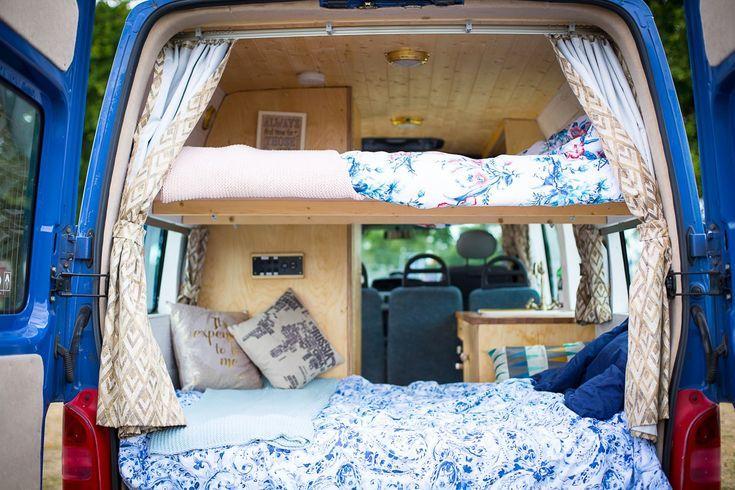 Genie Small Space Bedroom Camper Self Build Campervan