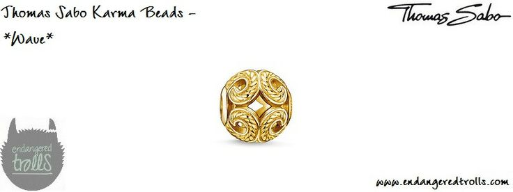 Thomas Sabo Karma Beads Wave (gold)