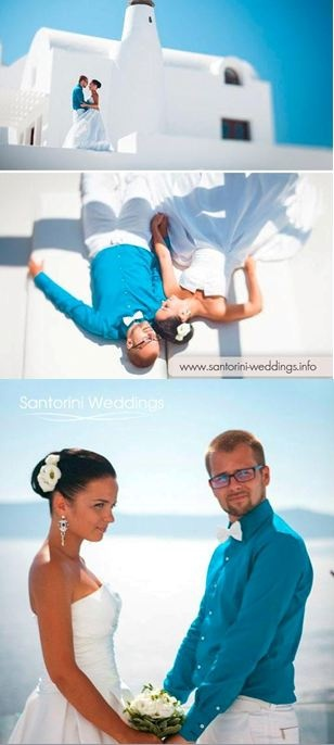 Get Married In Santorini Wedding Packages Including Unique Photography
