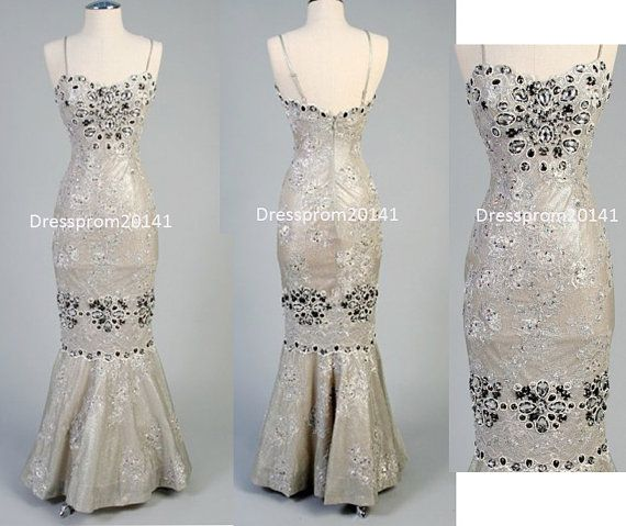 Grey prom dressesBridal gownsMother's by DressProm20141 on Etsy, $146.00