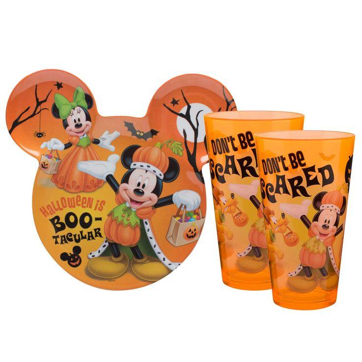 Mickey Mouse Halloween Kids Dinner Set