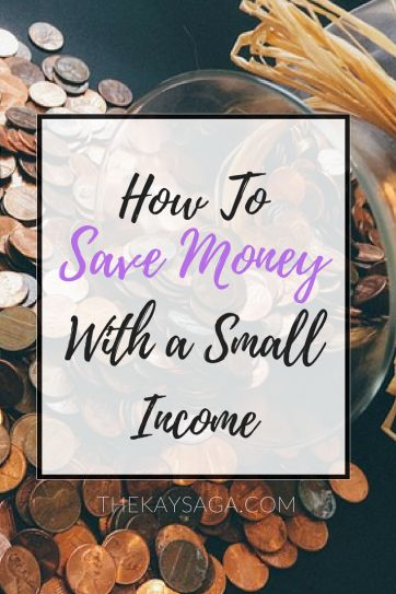 What if I told you there is a way to save money no matter how much money you make? Saving on a small income seemed impossible to me as well.