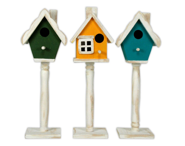 Painted Birdhouses by @Crafts Direct.: Birdhouses, Cd Projects, Crafts Direction, Try, Birds Dwell, Birds House, Country Kitchens, The, You Can