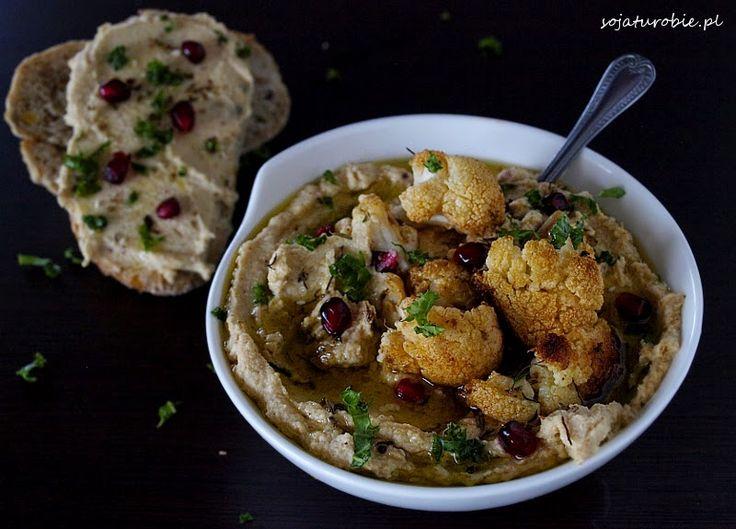 sojaturobie: Hummus z pieczonego kalafiora