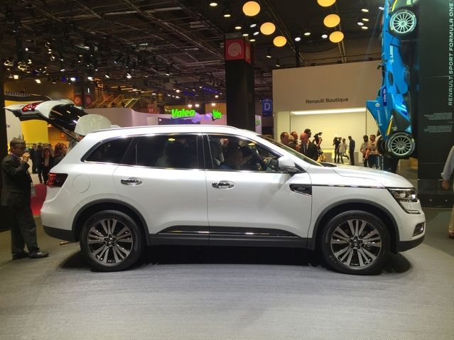 Renault Koleos: il coche les cases #MondialAutomobile #MondialAuto2016 #Renault #Koleos #SUV