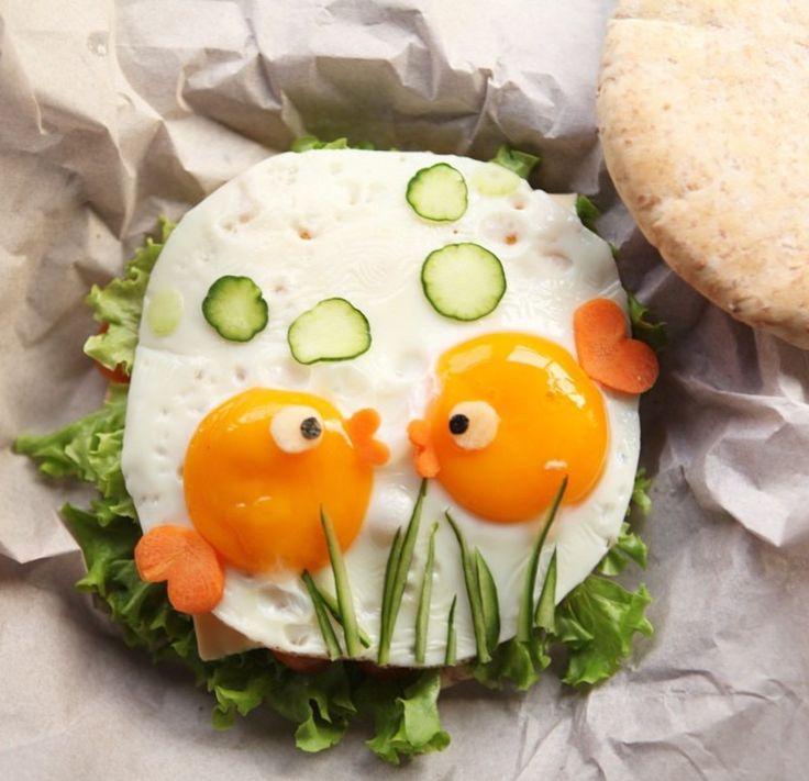 с добрым утром картинки с едой на тарелке прикольные поверить то