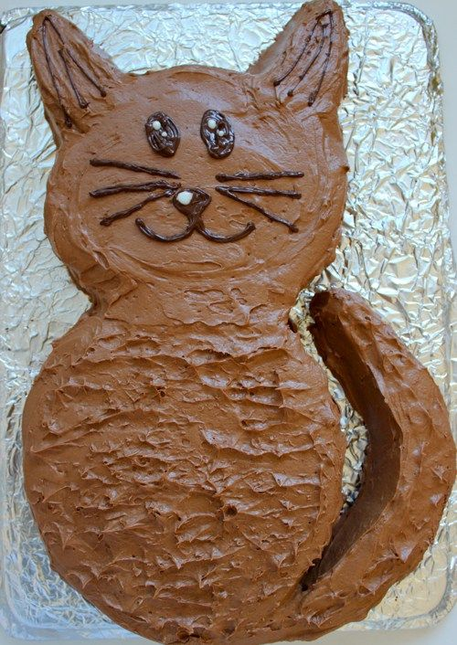 How to make an easy cat birthday cake. The question is, could I eat it?