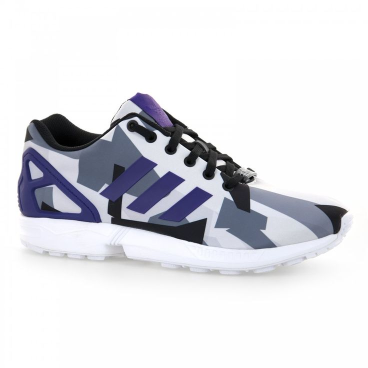 Adidas Originals Adidas Originals Men's ZX Flux Multi-colour Trainers  (Multi-coloured)