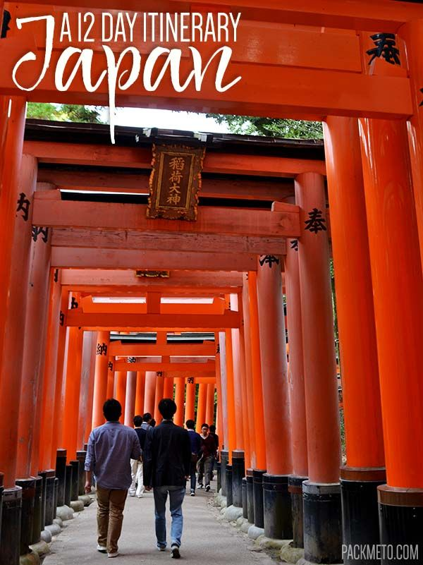 Going to Japan for the first time can be overwhelming to plan. Here is a 12-day itinerary to get you started covering Tokyo, Kyoto, Nara, Himeji and Osaka.