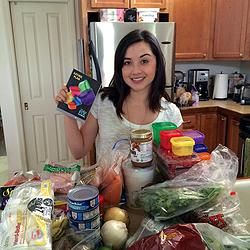 How to Meal Prep for the 21 Day Fix Extreme   {Click} for recipes & video! #21dfx