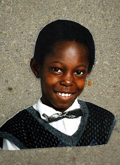 Dizzee Rascal aged 10