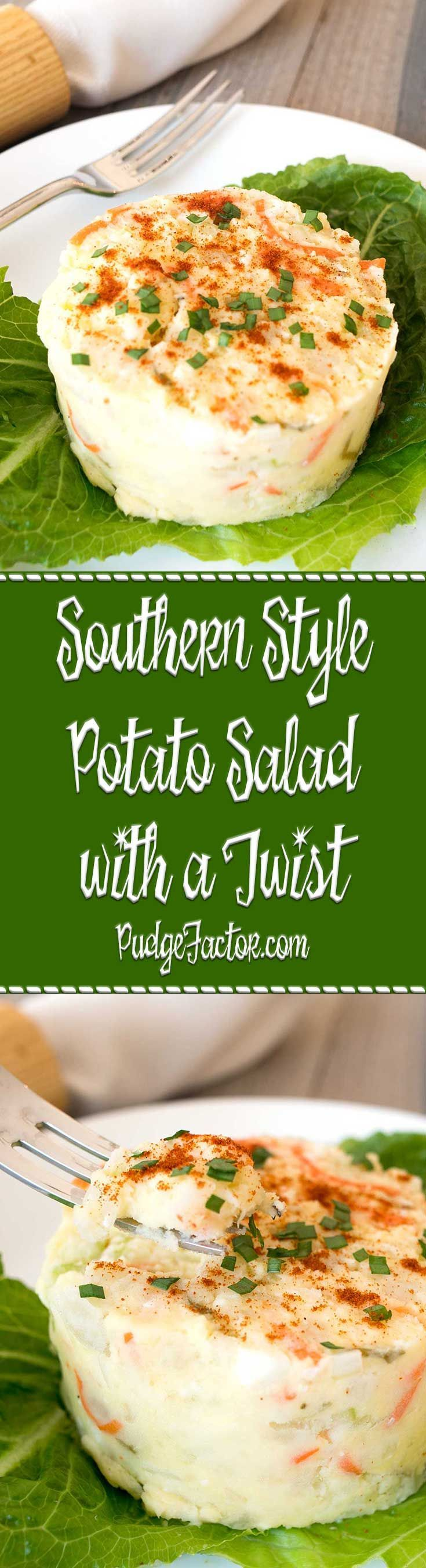 We do a lot of things right in the South, especially when it comes to Potato Salad! This Southern Style Potato Salad is perfect for Easter or anytime. via /c2king/