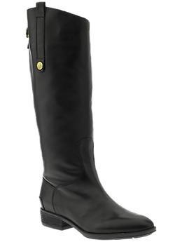 Sam Edelman Penny | Piperlime: Equestrian Boots, Sam Edelman, Fall Riding Boots, Pennies Boots, Edelman Pennies, Black Boots, Fall Fashion, Black Riding Boots, Edelman Penny