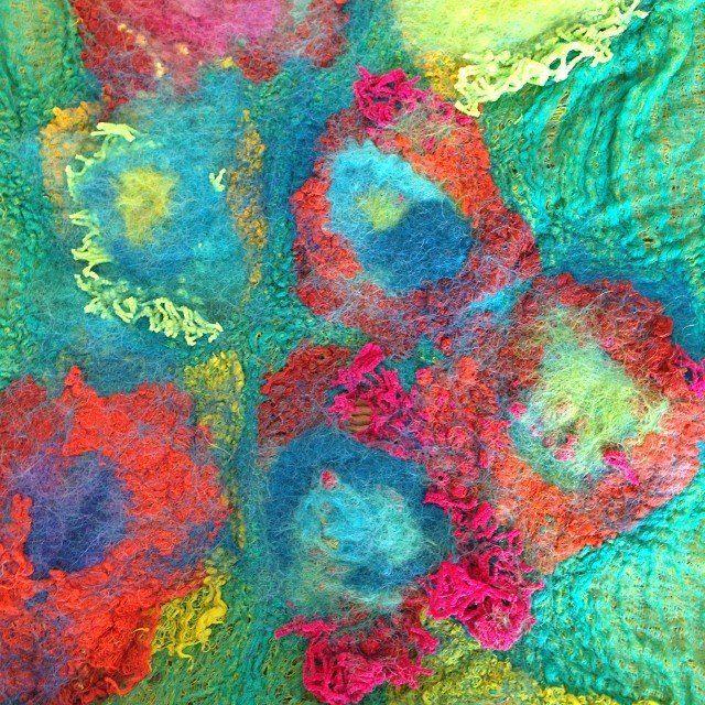 Art Textile / Artist Maite Izquierdo