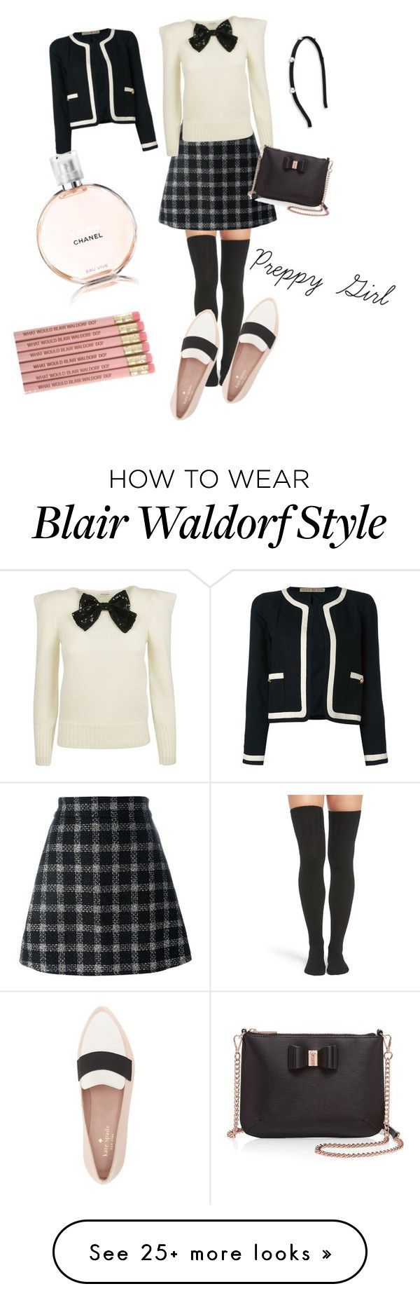 """""""My style ✨"""" by thepinkballettshoes on Polyvore featuring Peony & Moss, Gucci, Yves Saint Laurent, Kate Spade, Ted Baker, Salvatore Ferragamo and Chanel"""
