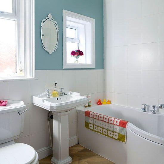 Enten-Ei blau und weiß Badezimmer Wohnideen Badezimmer ...