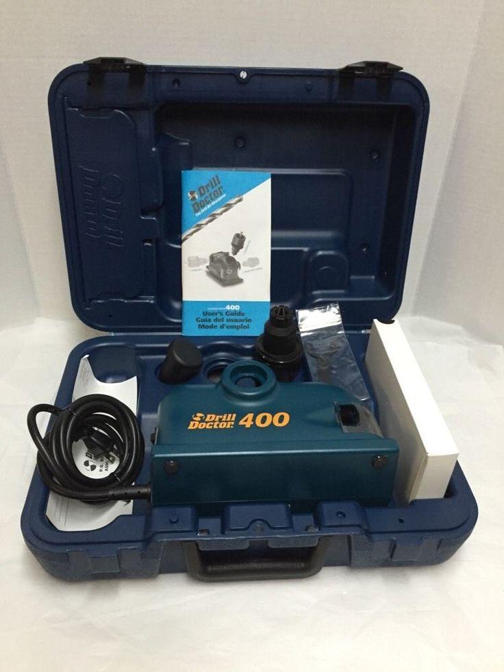 Drill doctor 400 journeyman drill bit sharpener in tool
