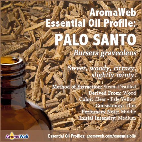 Palo Santo Essential Oil Profile