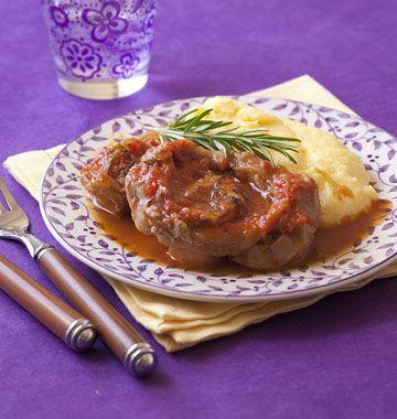 Osso bucco de veau à la milanaise - recettes de cuisine italiennes