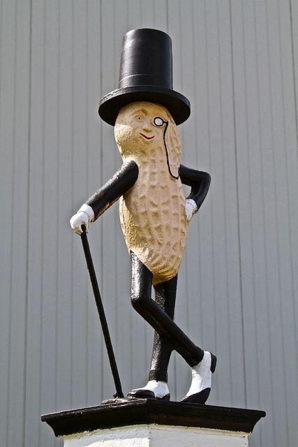 Planter's Mr. Peanut. Factory in Suffolk, VA