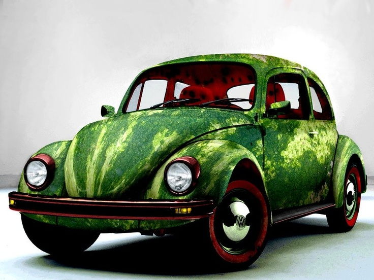 Watermelon Car VW