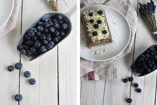 Sommerkuchen Heidelbeerkuchen Heidelbeereis Kühlschrank Gefrierfach Weiße Schokolade Holunderweg18 #ichbacksmir #sommerrezept