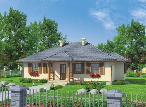 Spokojne, szczęśliwe życie to właśnie obiecuje jednorodzinny dom El Dorado. Jest duży, przyjazny i estetyczny.
