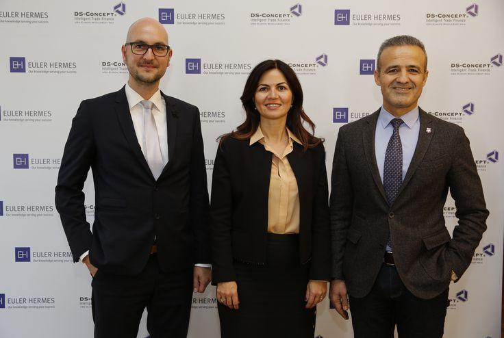 Dünyanın lider alacak sigortası şirketi Euler Hermes ve yıllardır Türk ihracatçısına uygun koşullarda finansman desteği sunan Almanya'nın önde gelen finans kurumu DS-Concept, Türkiye Giyim Sanayicileri Derneği (TGSD) ev sahipliğinde gerçekleşen bir etkinlikle güçlerini birleştirdiğini duyurdu.   #dolar #DS-CONCEPT #EULER #HERMES #İhracatına 1 MİLYAR #işbirliği #kaynak #türk #türkiye #ve #yaratacak