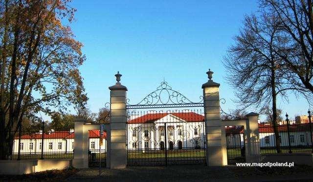 Pałac Ogińskich z XVIII w. - Siedlce