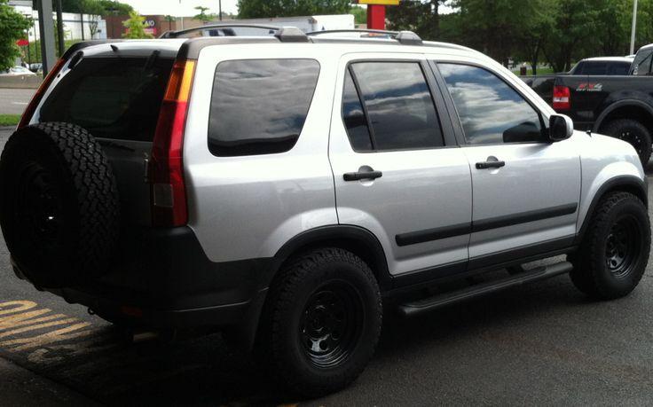 2nd gen lifted Honda CRV