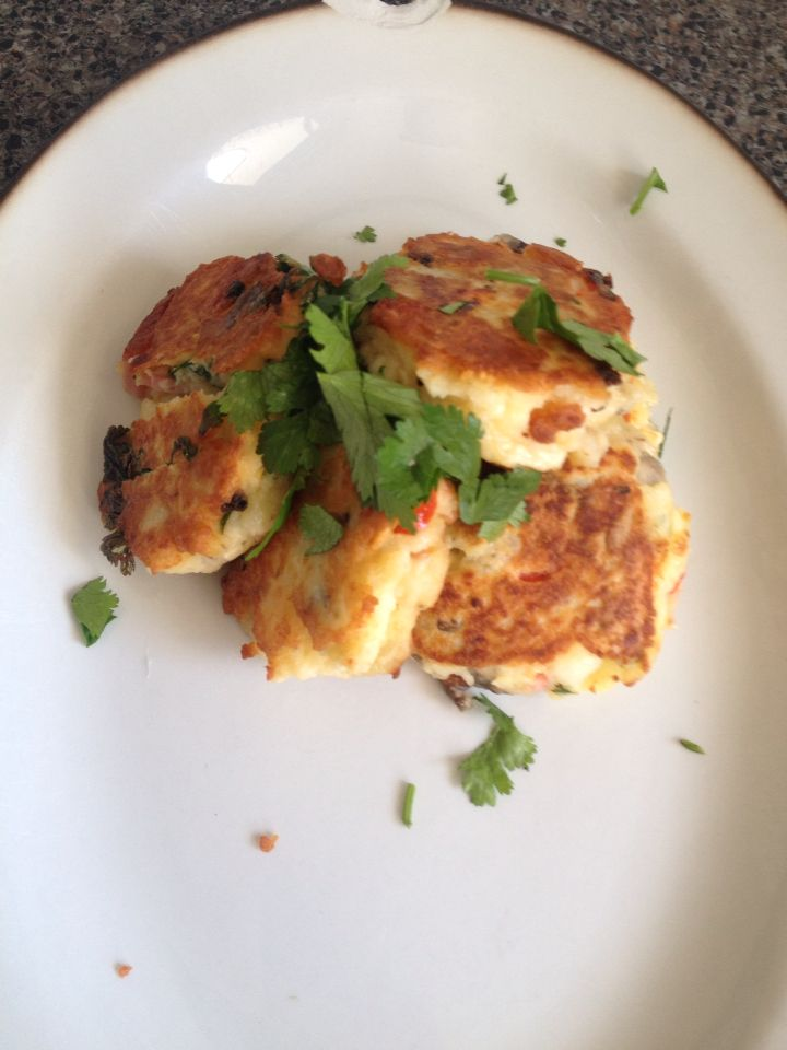 Fritters with a spice