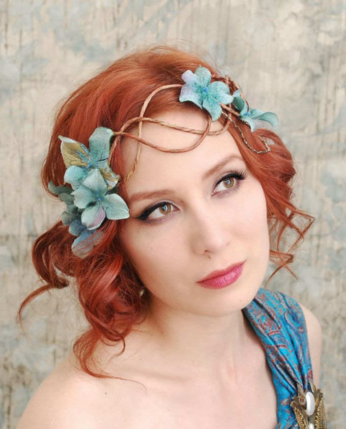 """Gentle Hair Accessories by """"Gardens of Whimsy"""" ♥ Нежни аксесоари за коса от """"Gardens of Whimsy"""" 