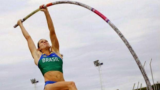 Blog Esportivo do Suiço: Fabiana Murer fica em sexto lugar em sua estreia na Diamond League