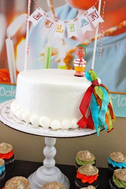 Mexican fiesta party! So cute! Perfect for cinco de mayo, too!: Birthday Banners, Mexicans Fiestas Parties, Mexicans Theme, Cakes Toppers, Birthday Parties Ideas, Cute Cakes, May 5, Fiestas Parties Theme, Birthday Party Ideas