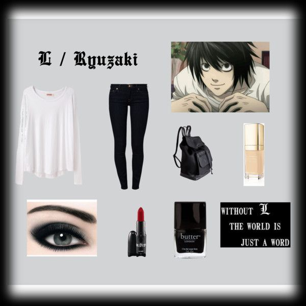 """Death Note Casual cosplay"" by briea14 on Polyvore"