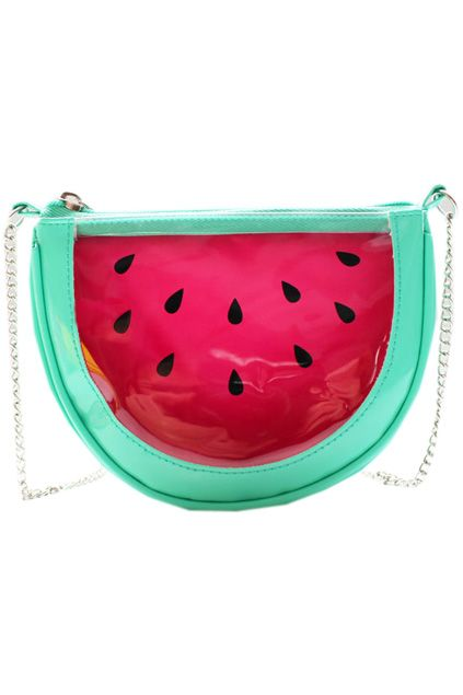 Transparent Watermelon Clutch