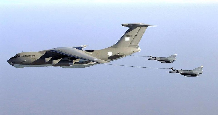 mirages being refeuled by IL-78 at exercise high mark..