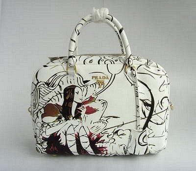 Prada 7811 Handbag-white