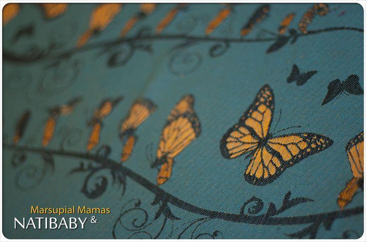 Archive: Natibaby Marsupial Mamas Exclusive: Monarch (Linen Blend)