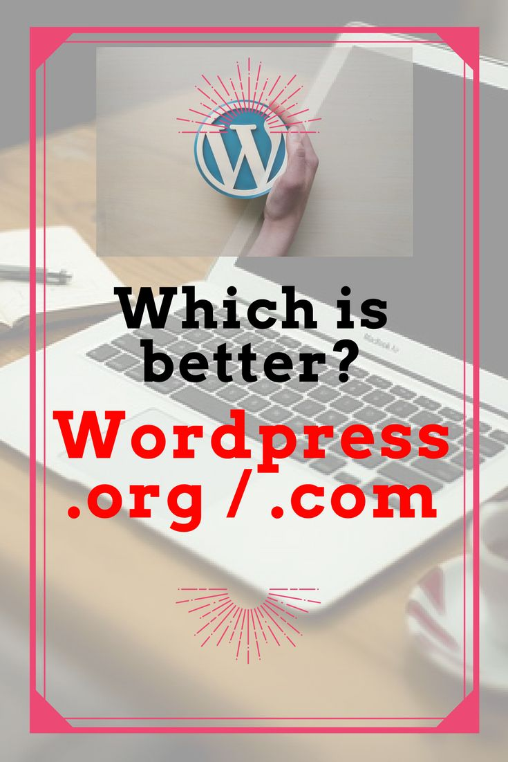 What to choose between Wordpress.org or Wordpress.com for your blog? Here I have listed out pros and cons of using both options!