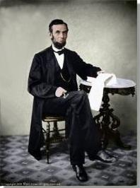 13 best history images on pinterest abraham lincoln coupon codes abraham lincoln large seated at table poster fandeluxe Gallery