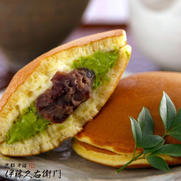 宇治抹茶どら焼き http://www.itohkyuemon.co.jp/item/70.html
