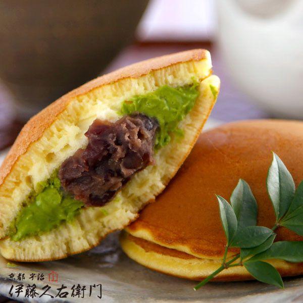 宇治抹茶どら焼き http://www.itohkyuemon.co.jp/item/70.html